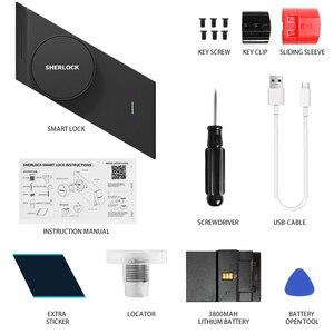 Image 5 - Sherlock S2 Smart Türschloss Hause Keyless Lock Fingerprint + Passwort Arbeit Zu Elektronische Türschloss Drahtlose App Bluetoot