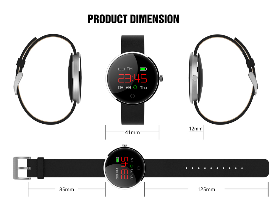 COLMI DM78 Smart Bracelet Blood Pressure Heart Rate Monitor IP68 waterproof Call reminder Activity Tracker Smart Band 13