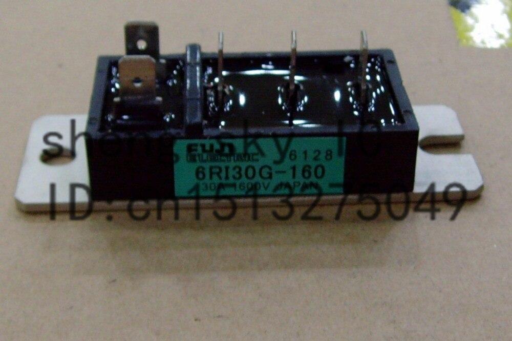 Gratis Verzending 1 Stuk 6ri30g 6ri30g-160 6ri 30g 1600 V 30a Fuji New En Originele 6-pack Power Diode Module