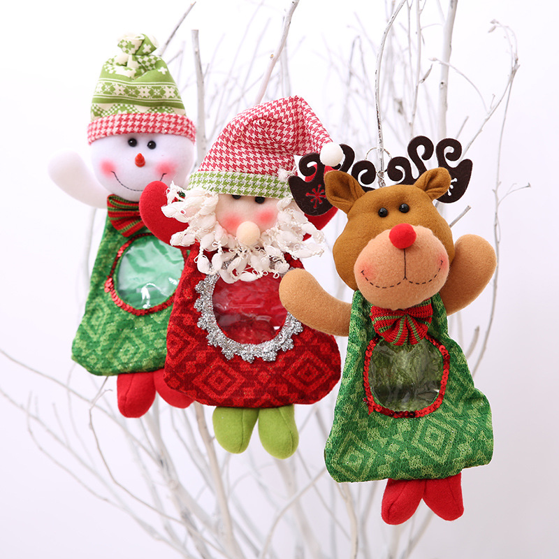 Merry Christmas New Year Decoration Santa Large Sack Stocking Big Gift bags Red Christmas Santa Claus Xmas Gifts Candy Bags ...