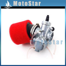 Карбюратор Molkt 26 мм + воздушный фильтр 45 мм для двигателя 140 куб. См 150 куб. См 160 куб. См SSR TTR Pitster Pro YCF Thumpstar