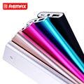 Remax RPP-23 5500 mAh Teléfono Móvil Banco de la Energía Paquete Externo de La Batería Del Teléfono Inteligente Tesoro Carga de La Batería de Respaldo de Energía Súper Delgada