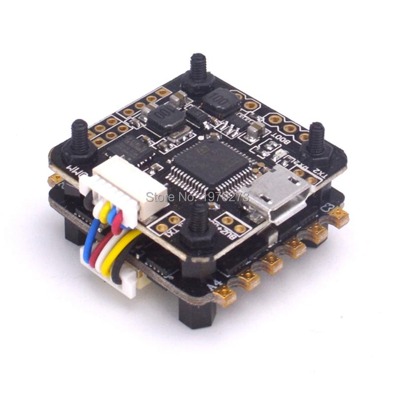 Мини F3 flytower управления полетом интегрированы OSD встроенный 5 В 1A Выход BEC 25A 4 в 1 blheli ESC для FPV Радиоуправляемый Дрон
