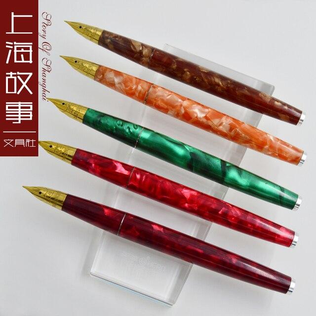 Wingsung 237 iridio sacchetto della penna stilografica accidnetal penna stilografica xylonite TRASPORTO libero