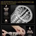 КАТЕРИНА II Электрический мужской Мастурбатор кубок силиконовые аксессуары, AILIGHER 2 sex machine телескопический вращения силиконовые аксессуары