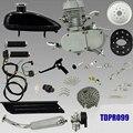 50cc 2-тактный Двигатель Комплект для Моторизованный Велосипед Монтажный Комплект Велосипед Газе Silver/Black