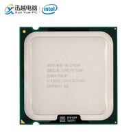 Intel Core 2 Quad Q9550 настольный процессор четырехъядерный 2,83 ГГц 12 МБ кэш FSB 1333 LGA 775 9550 б/у процессор