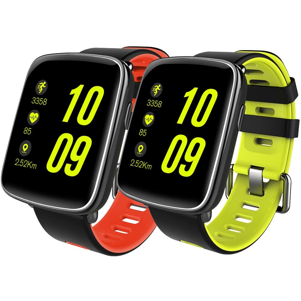 imágenes para Gv68 ip68 a prueba de agua smart watch smartwatch podómetro monitoreo de la frecuencia cardíaca de natación reloj deportivo mtk2502 para ios android