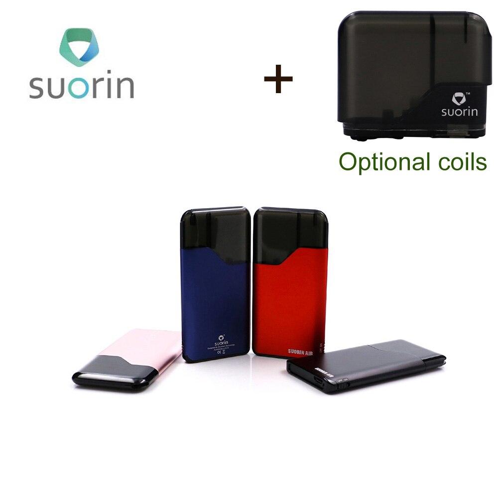 Original Suorin Air Starter Kit 400mah Built in Battery 2ml cartridge Portable vape new version Suorin Electronic Cigarette kit