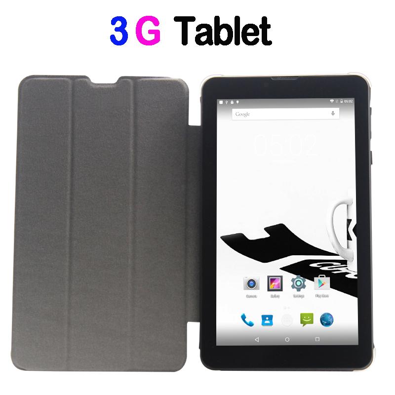 Prix pour 7 Pouce petit ordinateur tablet pc 3G Appel Téléphonique Android 5.1 Loll comprimés Pc Bluetooth FM IPS LCD 1 GB RAM 32 GB Dual SIM Carte téléphone