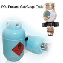 POL Propane Gas Gauge Table QCC1 BBQ Pressure Valve Tank Test Instrument Tools