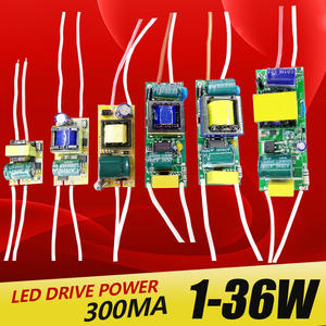 Transforme Power-Supply Led-Driver 1-3W 300ma Constant Built-In Output 8-12W 25-36W 4-7W