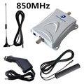 Phonetone 850 MHz uso Do Carro Celular Kit Impulsionador Repetidor de Sinal Amplificador Telefone Celular com Cabo + Antena Frete grátis