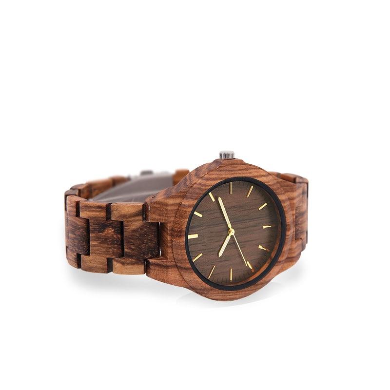 2018 Custom-made drewniany zegarek handmade dla mężczyzn specjalne - Męskie zegarki - Zdjęcie 6