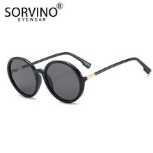 SORVINO Vintage Designer Big Round Sunglasses Women 2020 Bra