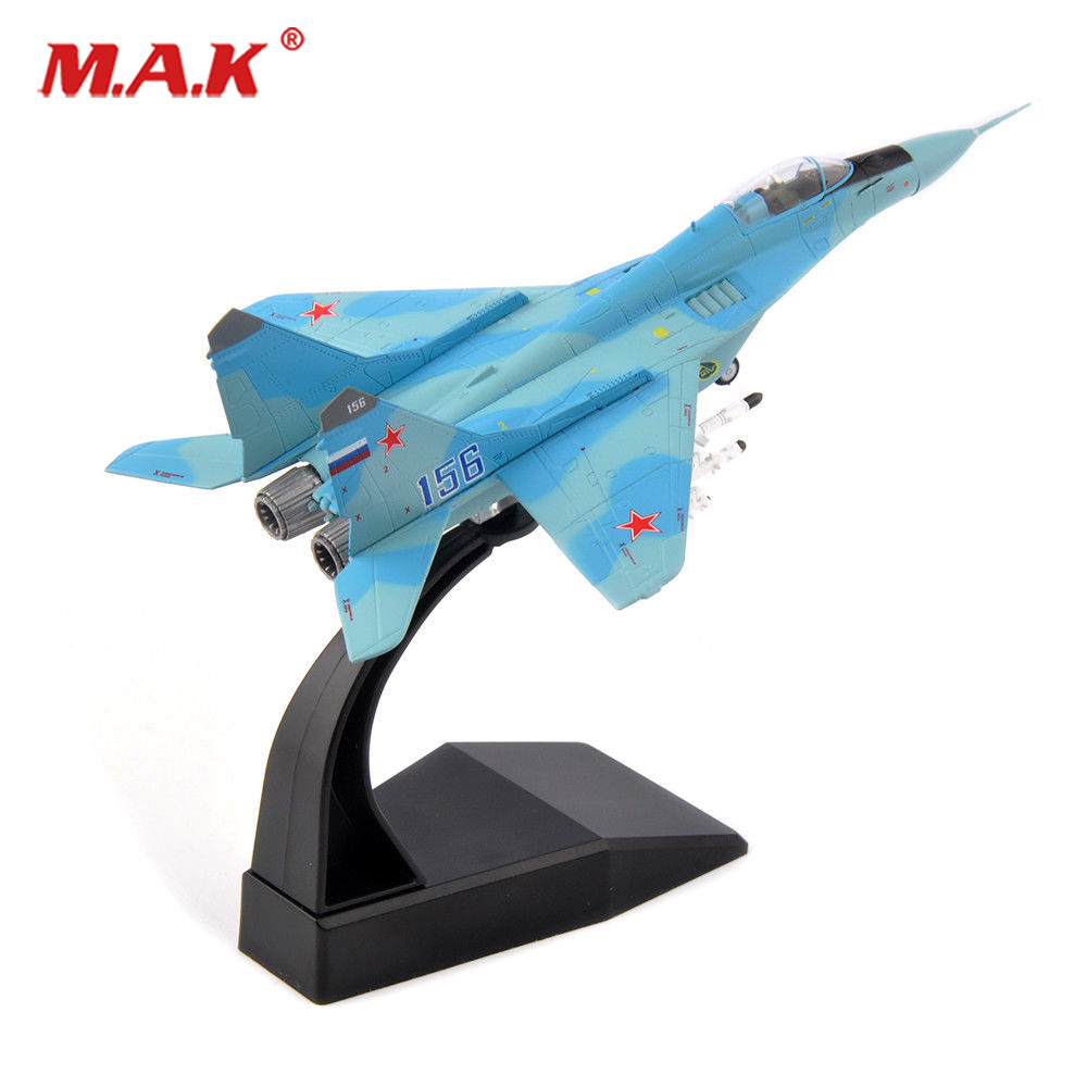 kids toys 1/100 Soviet Air Force Mikoyan MiG-29 Fighter Alloy Fighter Model Aircraft Toys Alloy AirlineToy 1 144 soviet mig 25 fighter military aircraft assemble model 80412