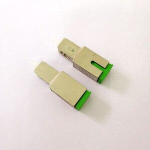 Image 3 - Free Shipping 2pcs/lot Fiber Optic SC APC Female to SC UPC Male Adapter