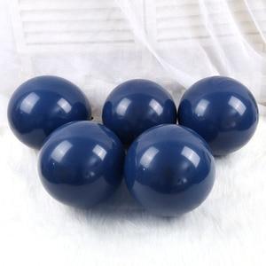 Image 5 - 30 قطعة بالونات في منتصف الليل الأزرق الداكن بالونات صغيرة صغيرة اللاتكس بالونات الباستيل العازبة حفلة عيد ميلاد استحمام الطفل الديكورات