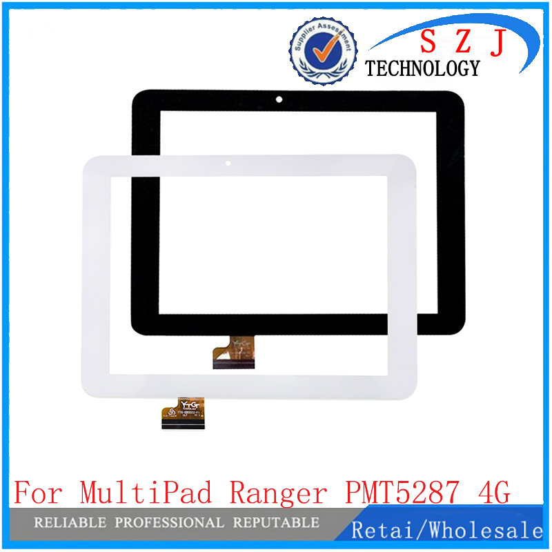 New 8'' inch Touch screen Digitizer For PRESTIGIO MultiPad Ranger 8.0 4G PMT5287_4G Tablet panel Glass Sensor Free Shipping 10 1 inch touch screen 100% new for prestigio multipad wize 3401 3g pmt3401 3g c touch panel tablet pc touch panel digitizer