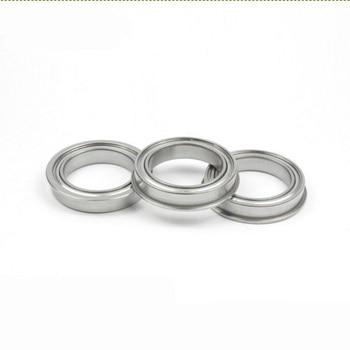 50pcs / 100pcs F6704ZZ F6704 ZZ Flange Bearing 20x27x4 mm Flanged Deep Groove Ball Bearing Shielded 20*27*4