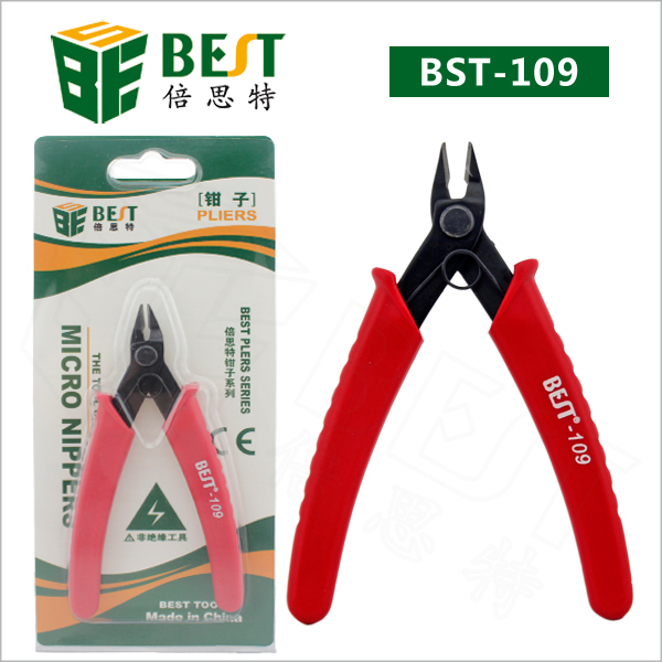 Heavy Duty Electrical Wire Cable Cutting Cutter Mini Diagonal Pliers for Electrician