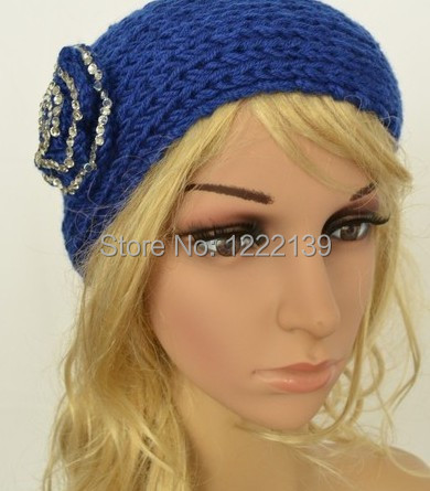 BEST SELLING Fashion strass blume muster handgemachte stirnband ...