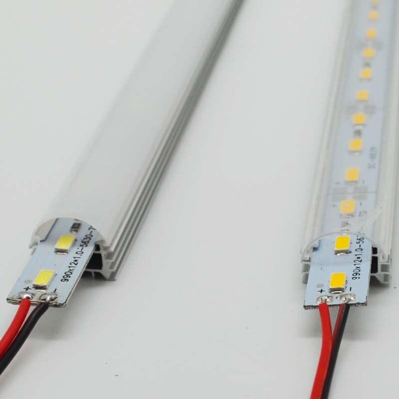 10 stks 50 cm 5630 5730 36led dc12v harde stijve bar strip met U - LED-Verlichting - Foto 3