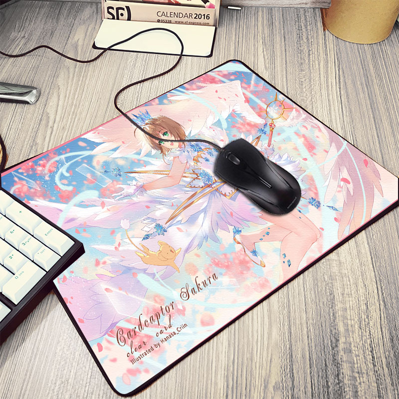 Mairuige As Best Mat For Anime Lover Friends Cardcaptor Sakura Pattern Mousepad Mahou Shoujo Girls Mini Pc Table Laptop Deskmat