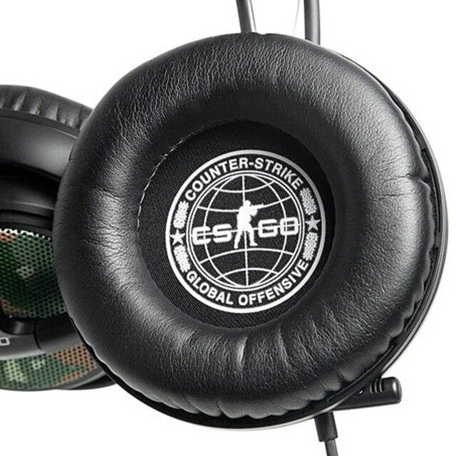 Novo 2 pçs macio substituição almofadas de ouvido almofada leve 98mm redondo preto earpads para steelseries sibéria v2 cs ir fone ouvido quente