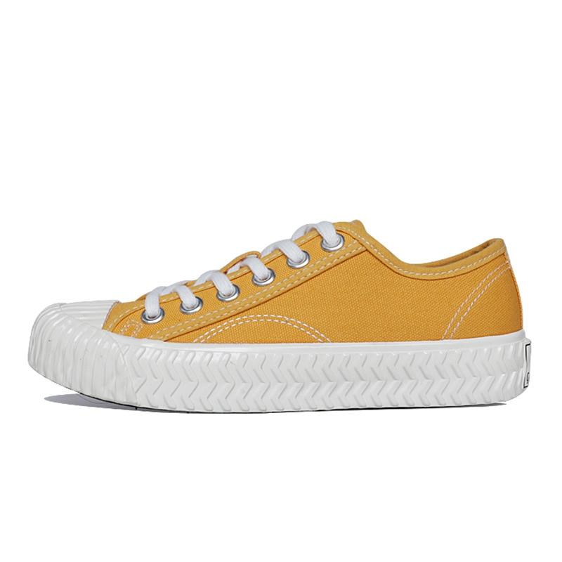 Woman Canvas Shoes 2019 Fashion Solid Color Men Vulcanized Shoes Lace-up White Casual Shoes Men Platform Sneakers