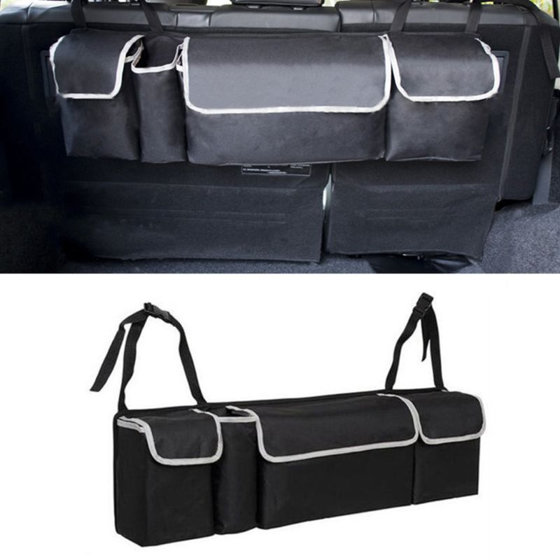 Oxford Cloth Suv Car Trunk Storage Storage Bag Multi Purpose Car Seat Back Hanging Bag Car Folding Debris Storage Back Trunk Bag-in Stowing Tidying from Automobiles & Motorcycles