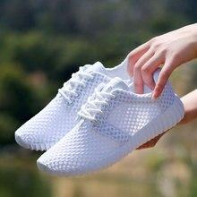 여성 신발 통기성 메쉬 중공 여성 네트워크 소프트 경량 캐주얼 신발 dames 스니커즈 damesschoenen zapatillas Soft