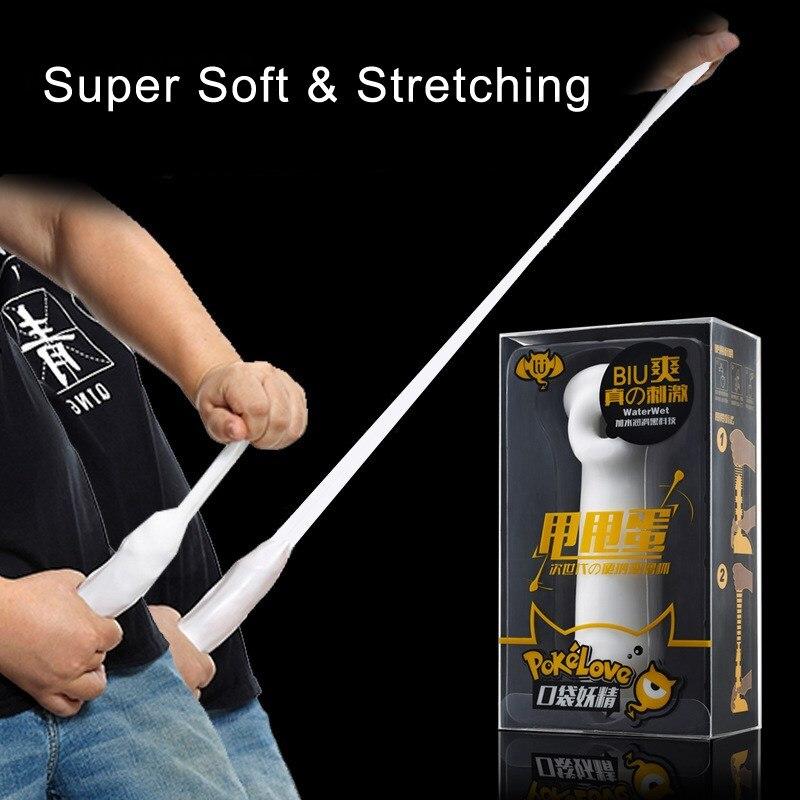Super Silicone Vagina Masturbator For Male Long Slide Elastic Penis Sleeve Soft Skin Feel Pussy Penis Massager For Men Sex Toy