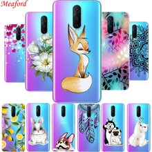 Case For OPPO R17 PRO 6.4 clear soft TPU back cover for RX17 case silicone coque R 17 funda floral capa