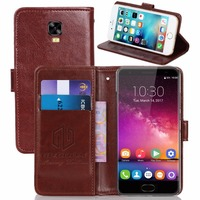GUCOON Vintage Wallet Case For Oukitel K6000 Plus 5 5inch PU Leather Retro Flip Cover Magnetic
