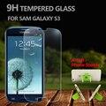 Premium 2.5d protector de pantalla a prueba de explosiones de cristal templado de cine para samsung galaxy s3 i9300 i9305 pantalla de la película protectora + soporte