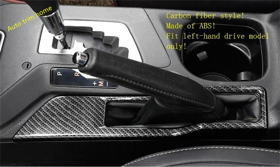 Lapetus For Toyota RAV4 RAV 4 Left-hand Drive Model 2016 2017 2018 ABS Hand Brake Parking Panel Molding Garnish Cover Trim