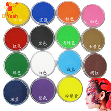 15 Colors Face Paint Color maquillage 30g Halloween Makeup schmink Pigment Body Art Model Marker Single maquiagem Body Painting