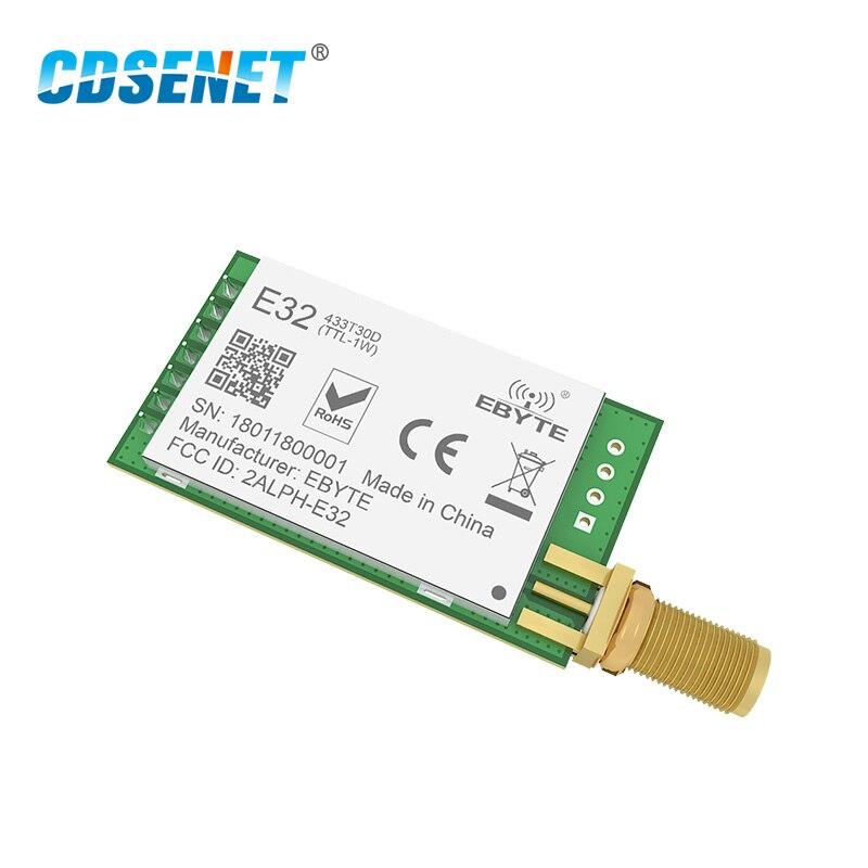 Wireless Transceiver Long Radio Module SX1278 LoRa 170MHz 1W UART E32-170T30D
