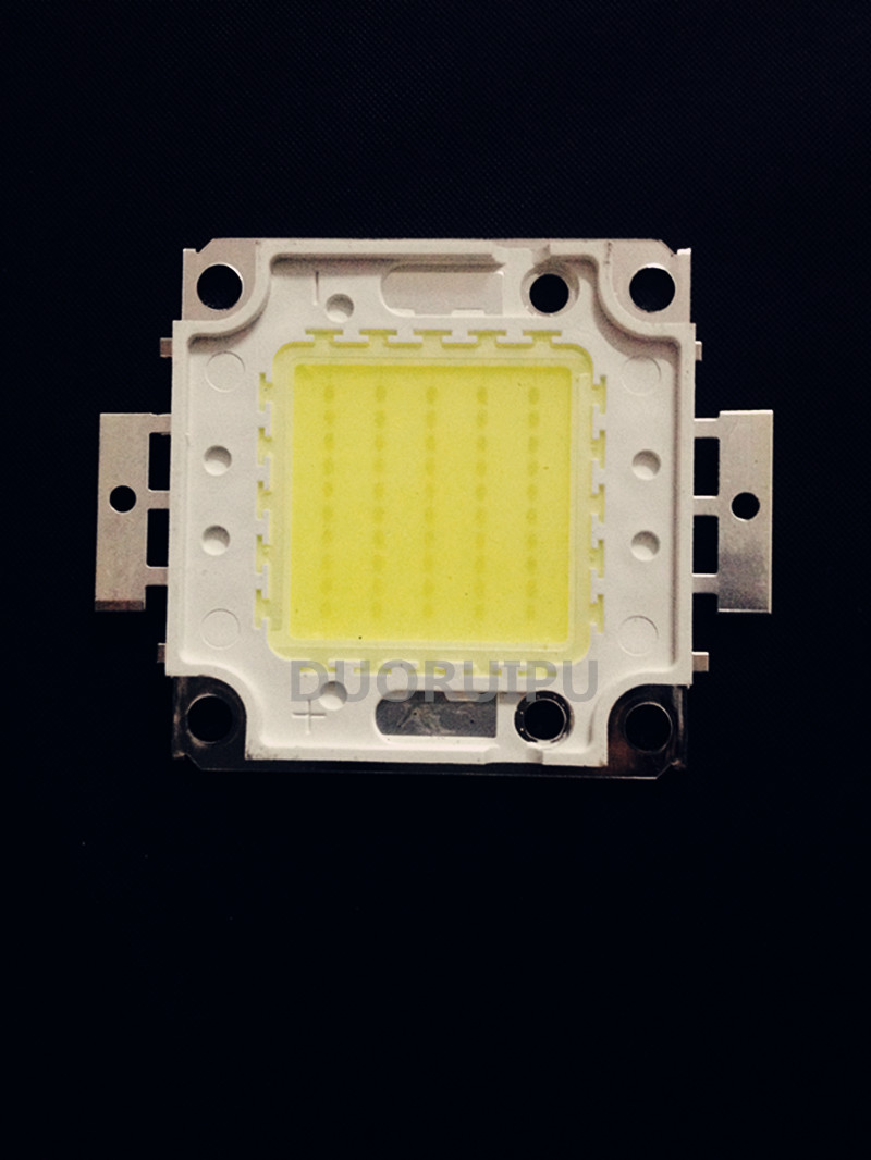 10W/20W/30W/50W/100W LED Integrated High Power Lamp Warm white/White 24*40MIL Huga Chips Free shipping 10pcs/lot 100w led integrated high power lamp warm white white 3000ma 32 34v 8000 9000lm 30 30mil genesis chips free shipping
