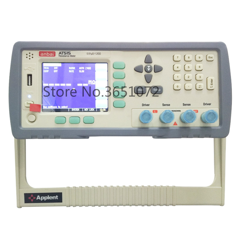 AT515 High Precision Micro Ohmmeter-in Resistance Meters