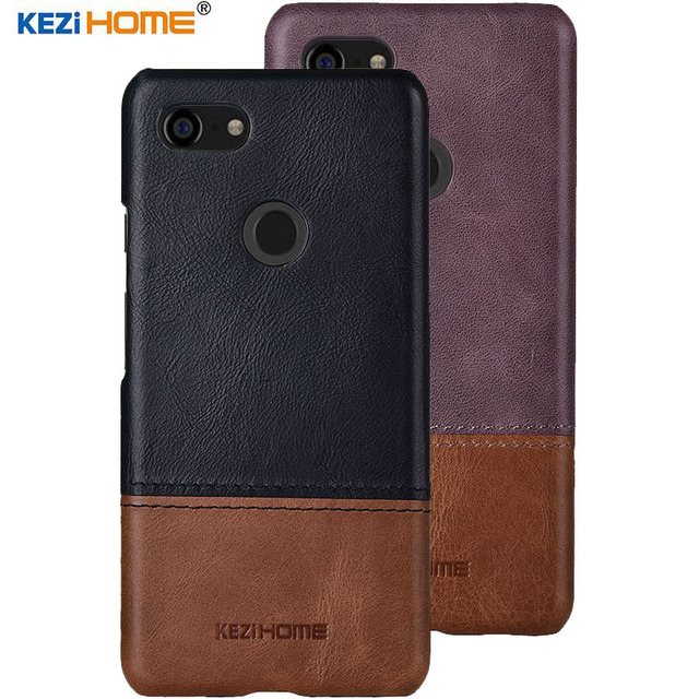 reputable site b1b57 773e7 US $11.98 30% OFF|Luxury For Google Pixel 3 Case Luxury Genuine Leather PC  Hard Phone Case For Google Pixel 3 XL Back Cover High quality-in ...