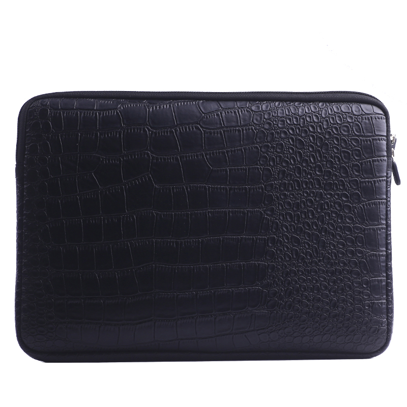 Waterproof Leather Laptop Sleeve Bag Notebook Case Cover Pouch For 12 13 15 Inch Macbook Air Pro Retina
