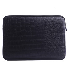 Waterproof Leather Laptop Sleeve Bag Notebook Case Cover Pouch For 12 13 15 inch Macbook Air Pro Retina(China)