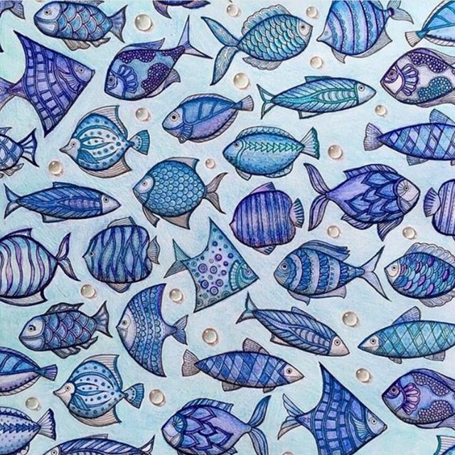 Online Shop 24 pages LOST OCEAN coloring book antistress for ...