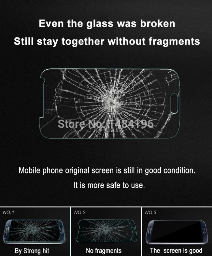 Tempered Kaca Screen Protector Guard untuk Samsung Galaxy S4 S5 S6 - Aksesori dan suku cadang ponsel - Foto 2