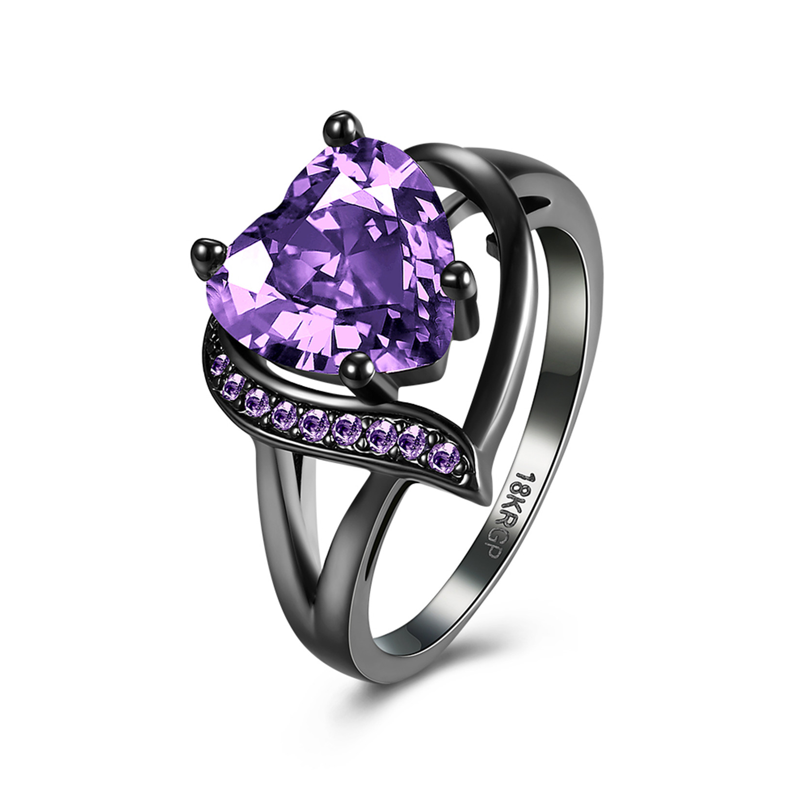 DROLE 2 Colors Vintage CZ Wedding Jewelry & Watches