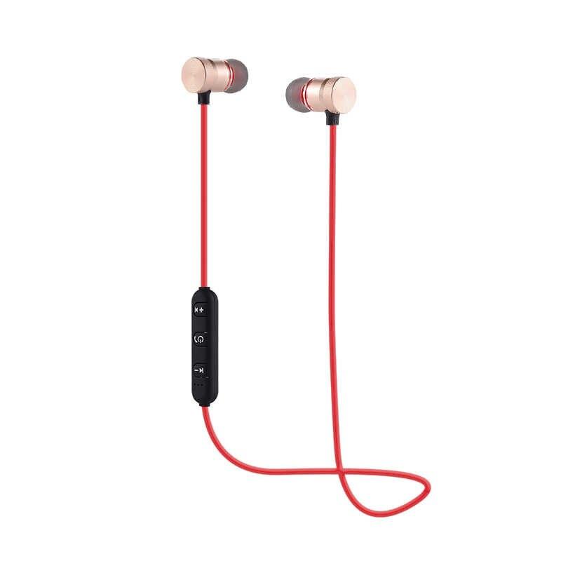 SweatProof Wireless Bluetooth Earphone Sports Wireless Earphones Metal  Magnetic Stereo Headset In Ear Earbud for IPhone cb072ad581