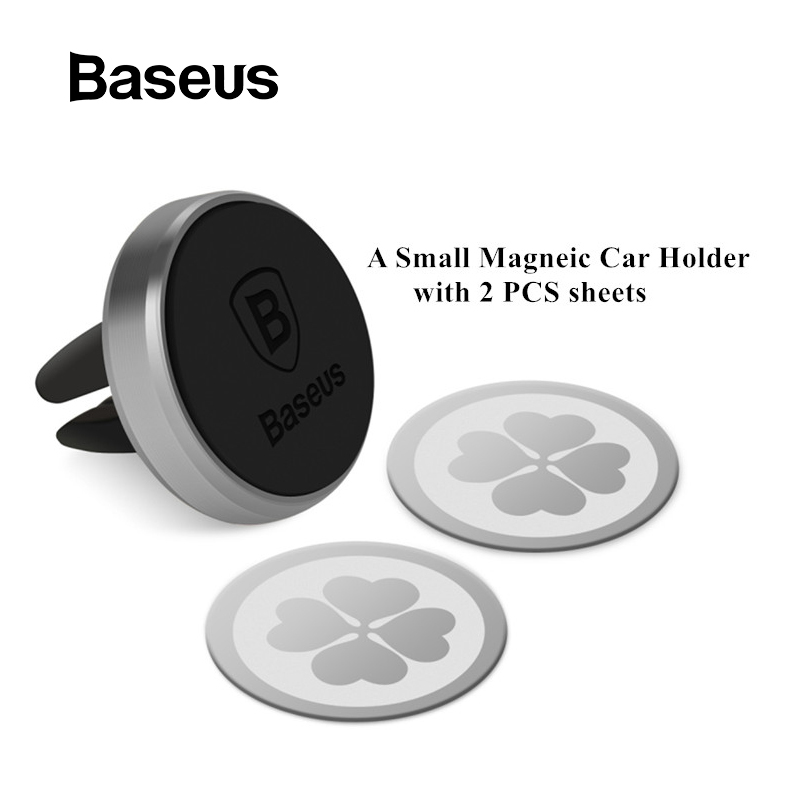 Baseus Magnetic Car Phone Holder Stand Mount Air Vent Car Holder 360 Degree Rotation Mobile Phone Holder in car For iPhone X 8 7Baseus Magnetic Car Phone Holder Stand Mount Air Vent Car Holder 360 Degree Rotation Mobile Phone Holder in car For iPhone X 8 7