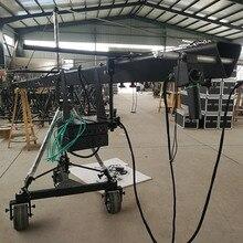 Professional heavy video camera jib12m 3 axis  jimmy jib